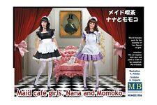 MasterBox MB35186 1/35 Maid café gilrs - Nana and Momoko
