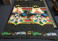 Batman And Joker Bed Spread ,Twin Size