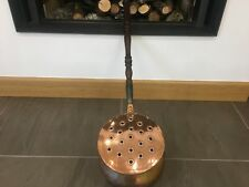 Antique Large Copper Real-Fire Roasting pan/Casserole pan-Rare