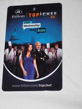 HILTON HOTEL D.C.TOP CHEF ROOM KEY CARD