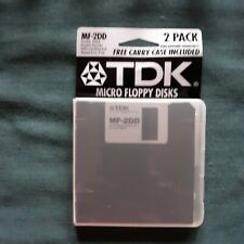 TDK MF-2DD, Double Sided Double Density Micro Floppy Disks