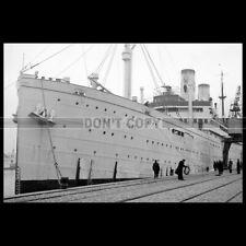 Photo B.000894 SS DER DEUTSCHE NORDDEUTSCHE LLOYD NDL OCEAN LINER PAQUEBOT