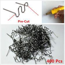 400x Standard Wave Hot Staples Pre Cut 0.8mm Plastic Stapler Repair Kits Welders