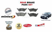 FOR Chrysler GRAND Voyager MK II III 2.4 2.5D 2.8D 3.3i Rear Brake DISC Pads Set