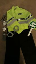 Police officer dressing up costume Age 3-4