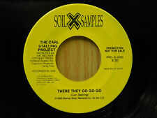 The Carl Stalling Project rock 45 There They Go Go Go bw This Is The Sea
