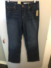 "DKNY Jeans Women's NWT Size 10R SOHO Boot Cut Jeans Mid Rise 32"" Waist"
