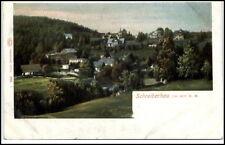 SCHREIBERHAU Szklarska Poręba Litho-AK ~1900 Niederschlesien Polen Teilansicht