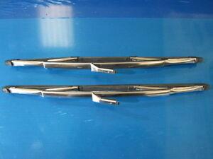 Aston Martin DB4 & DB5 Windscreen Wiper Blades, Stainless Steel, Genuine TEX