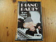 Tony Miller nastro pianoforte PARTY MC RAR!