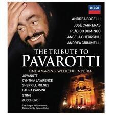 Luciano Parvarotti - A Celebration Live From Petra DVD Bocelli Carreras Domingo