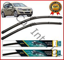 "Vauxhall Astra H 2006 2007 2008  2010 Front Pair Flat Aero Wiper Blades 22""18"""