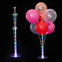 Balloon Support LED Column Stand Rack Wedding Favors Romantic Party Decor
