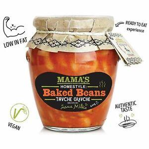 Mamas: Baked Beans Sugar Free - 560g