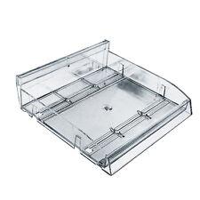 Modular Adjustable Divider Bin Tray Gravity Fed Slanted12 Inch W - Lot of 2