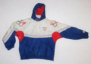 USA United States Olympic Team Vintage Starter Jacket Early 90s Era Size XL RARE