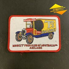 2004 'T's GALORE' MODEL T FORD CLUB OF AUSTRALIA ADELAIDE EMBROIDERED PATCH