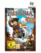 Deponia Pc Steam Key Digital Download Game Code New [Lightning Shipping]