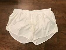 Nwt Nike Women's Tempo Modern Embossed 3 Inch Shorts Medium (M) White 719759-100