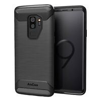 Case Protection for Galaxy S9 Plus Case Quality Product Rugged Impact TPU Black