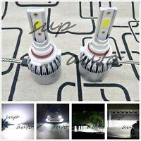 9005 HB3 LED Headlight Bulbs Kit High Beam OEM Headlamp 55W 8000lm 6000K Plus