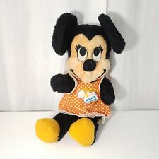"Vintage Walt Disney Minnie Mouse California Stuffed Toys Plush 24"" 1960's"