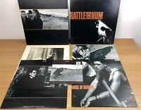 "U2 Vinyl Albums 12"" Bundle Record Collection Harlem Joshua Rattle Streets"