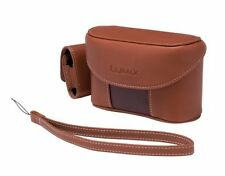 Panasonic Digital camera case Leather case (with strap) Brown DMW-CT3-T for TZ3