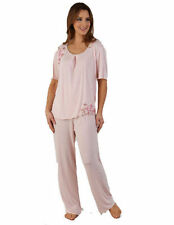 Hand-wash Only Pajama Sets Floral Sleepwear for Women