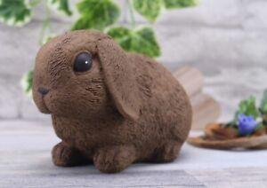 Steinfigur Hase Kaninchen 199/2, Gartenfigur Gartendeko Geschenk Figur Tierfigur