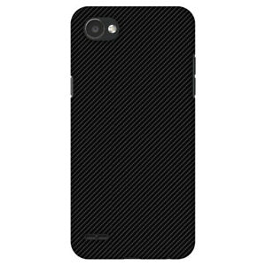 AMZER Carbon Black Texture HARD Protector Case Snap On Phone Cover Accessory