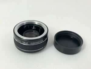 GENTLY USED SAITEX AUTO TELE CONVERTER 2x Used Lens JAPAN