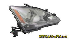 TYC  Right Passenger Side Xenon HID Headlight for Lexus IS250 IS350 06-08 w/AFS