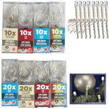 10 20 30 LED Mikro Mini Lichterketten Lichter Lichterkette batteriebetrieben