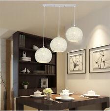 Kitchen Pendant Light Home Lamp Modern Ceiling Lights Silver Chandelier Lighting 18cm