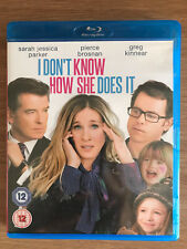 Sarah Jessica Parker i Don'T Know How She Does It 2011 Película Drama Gb Blu-Ray