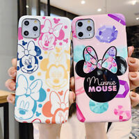 Cute Mickey Minnie Disney Phone Case Cover For iPhone 11 Max X XR Xs 6s 7 8 Plus