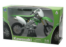NEW RAY MODELLINO MOTO CROSS KAWASAKI KX 450 F SCALA 1:6 MODEL BIKE IDEA REGALO