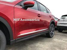 for MAZDA CX-5 2017-on 2nd Gen door body side molding cover chrome trim garnish