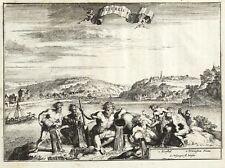 BEVERUNGEN - WÜRGASSEN & HERSTELLE - de Hooghe - Kupferstich 1671