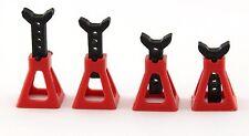 Holder Jack Stand Red For RC Car 1/10 1/16 on-road drift tamiya sakura mst