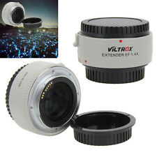 1.4x Extender Teleconverter Magnification Auto Focus Lens for Canon EF Camera