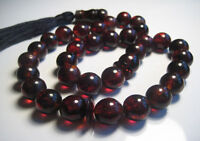 Islamic Prayer Baltic Amber 33 beads 34.5 g !!!