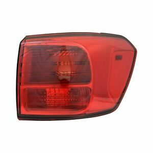 FIT FOR SEDONA 2015 2016 REAR TAIL LAMP OUTER RIGHT PASSENGER 92402 A9020