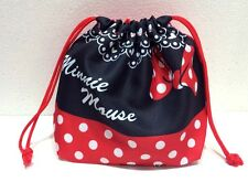 Minnie Mouse Lunch Snack Mini Drawstring Bag & Make up travel bag