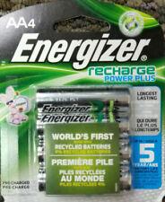 Energizer RECHARGE POWER PLUS AA 4pk AA4 1.2V 2300mAh NiMH Rechargable Batteries