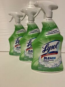 3—Lysol With BLEACH Multi-Purpose Cleaner with Germ-Killing Foam (32 oz)