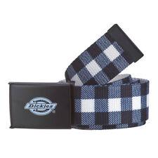 Cintura in rete Dickies Scottsville Bianco-nero