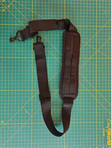 Replacement Padded Shoulder Strap EDC 40mm Webbing 140cm Black Carryology
