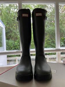 Hunter Men Balmoral Dark Olive Gummistiefel Wellies GR UK10 / EU 44